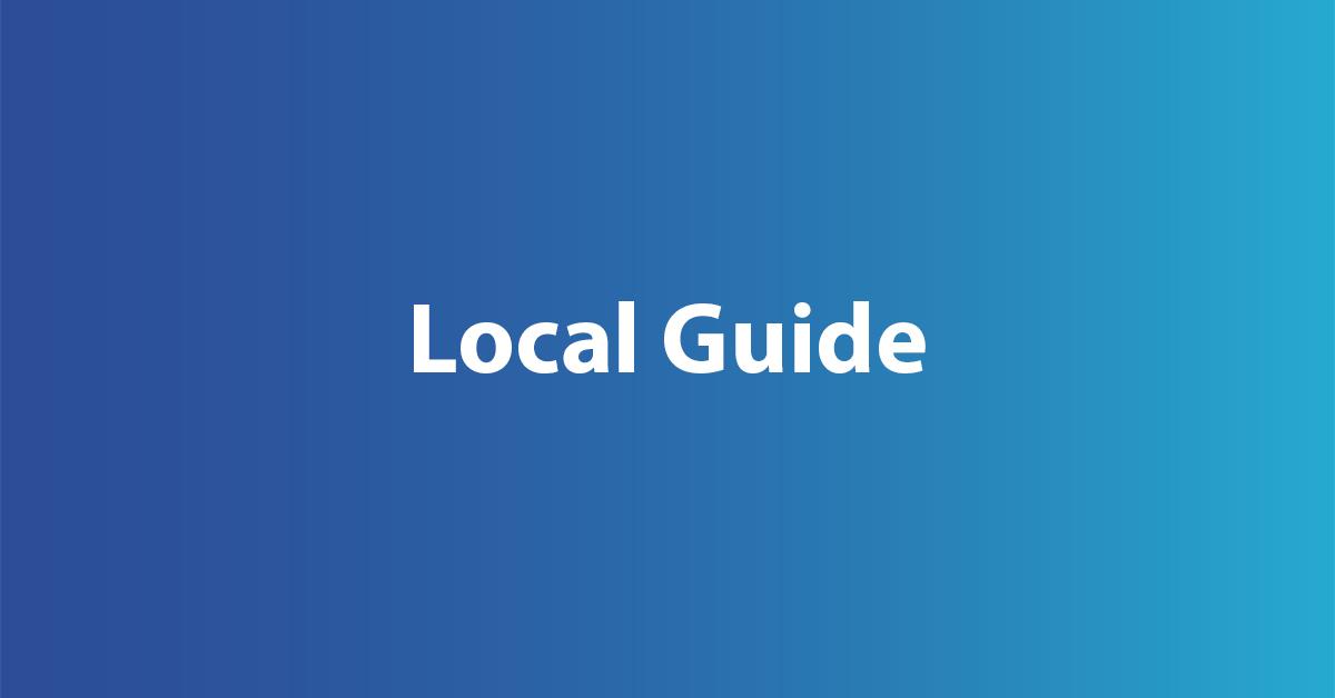 wie wird man local guide