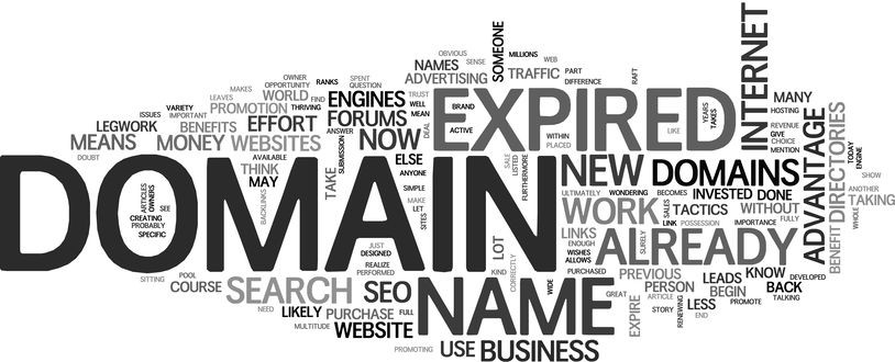 Expired Domain Cloud Map