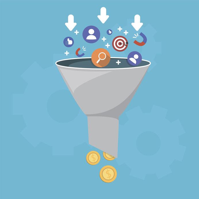 Sales / Conversion Funnel Beitragsbild