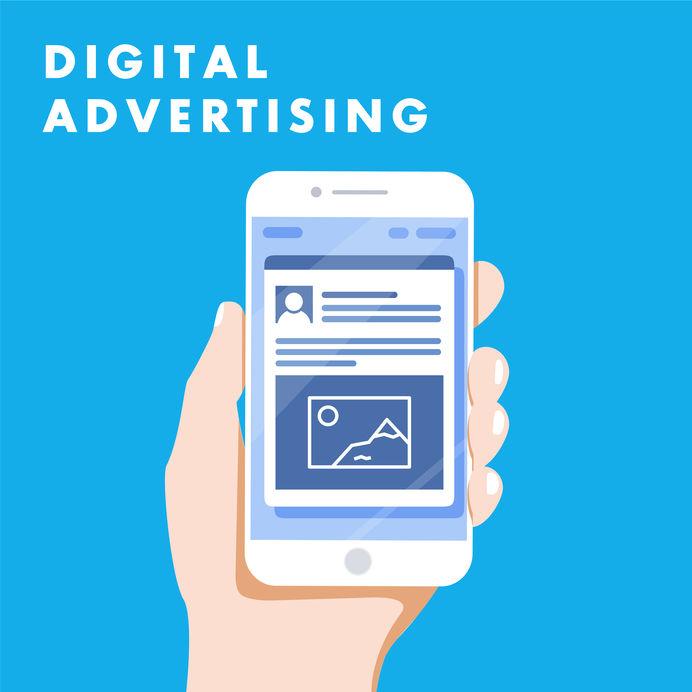 Facebook Marketing Beitragsbild Hand mit Handy