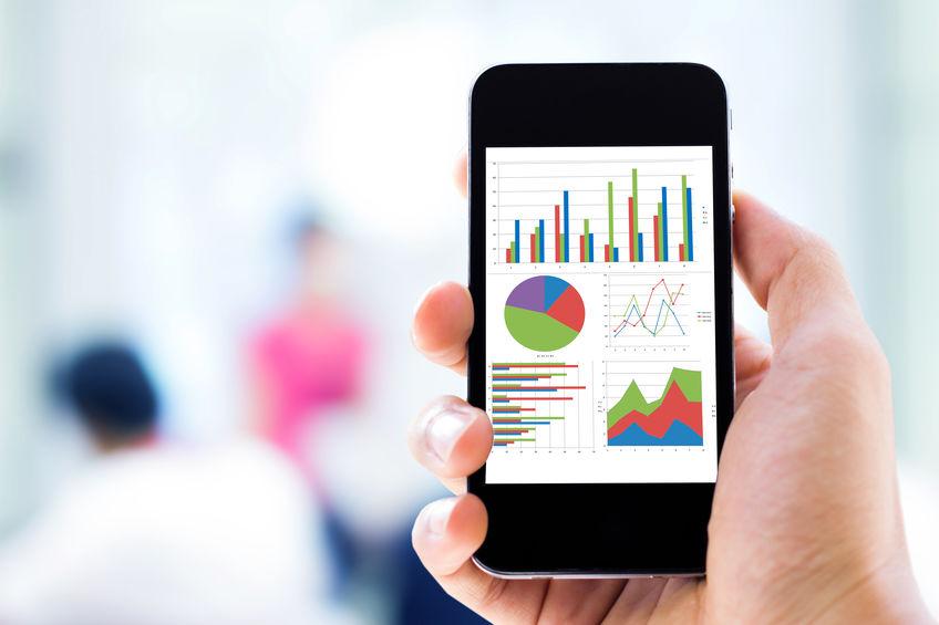 Mobile Analytics auf einem mobilen Endgerät auswerten