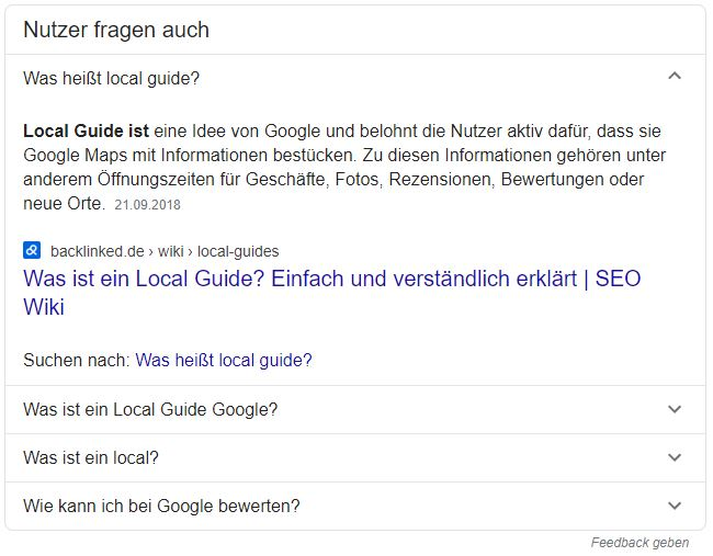 Google Featured Snippet_Backlinked